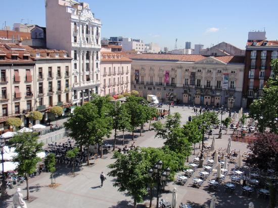 Plaza De Santa Ana Desde Terraza Hotel Me Picture Of Me By