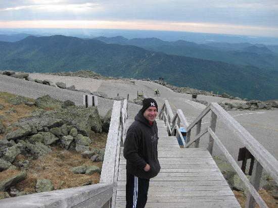 Beech Hill Campground and Cabins: Top of Mount Washington in Auto Road