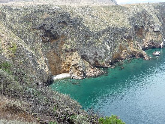 Santa Cruz Island, Califórnia: secluded cove