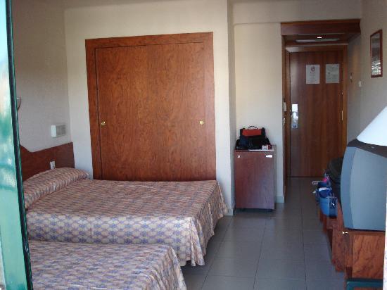 Hotel Fenals Garden: La chambre