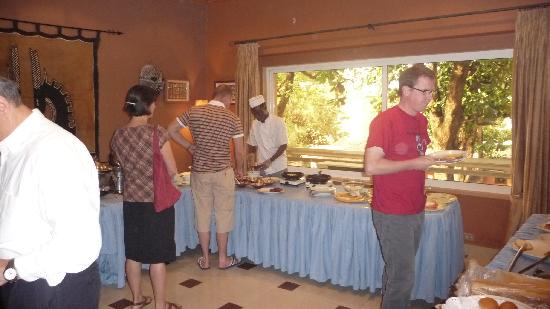 Mamba Point Hotel: Cook to order breakfast