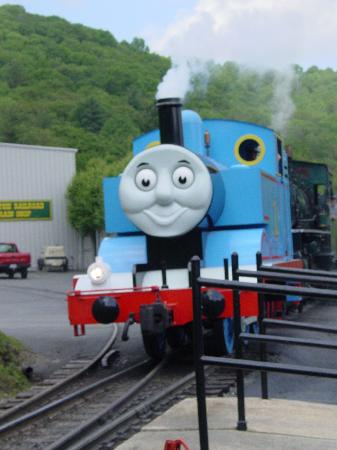 Blowing Rock, Carolina del Norte: Thomas Train at Tweetsie
