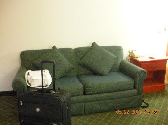 Quality Inn Marshall : Very comfortable sofa