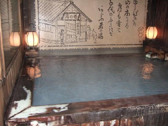 Yamamoto-kan: 草津_山本館(男湯)