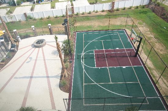 TownePlace Suites Columbia Southeast/Fort Jackson: Basketball/Tennis & Volleyaball court