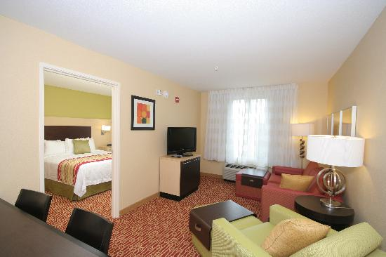TownePlace Suites Columbia Southeast/Fort Jackson: My one bedroom suite