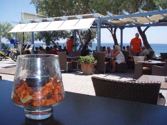 Kamari, Grækenland: Navy's Club Restaurant