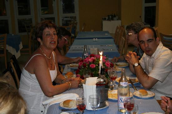 Iberostar Diar El Andalous: Repas anniversaire fort sympathique