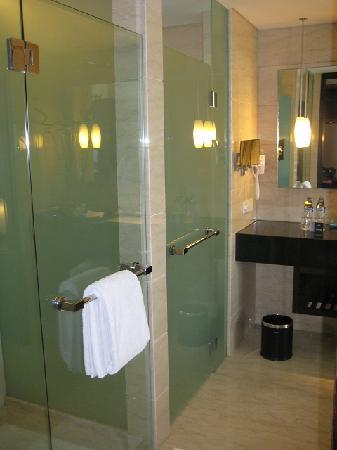 Hilton Bandung: Big Bathroom but no bathtub