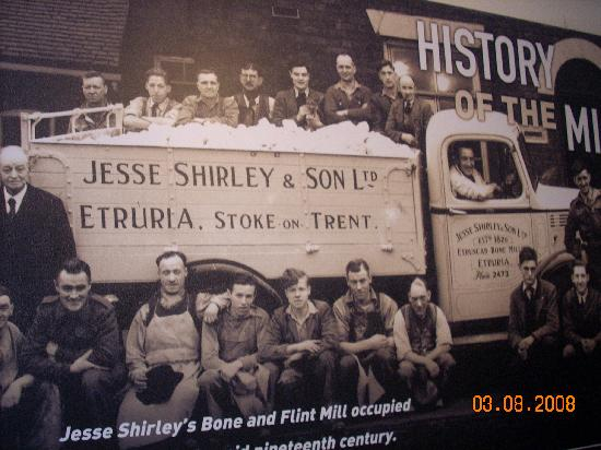 Etruria Industrial Museum: Historical Photograph