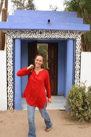 Auberge Menata: Olivia; accueille tout le monde avec le sourire