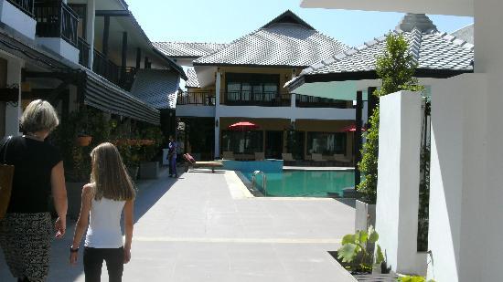 Vdara Resort and Spa : vom Eingangsbereich aus fotografiert