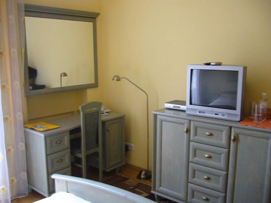 Sunflower B&B Hotel : Desk & TV