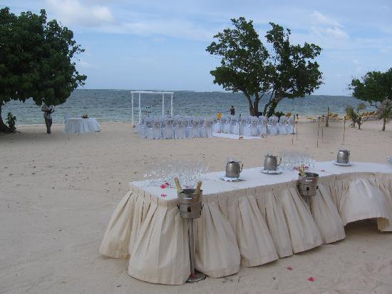 Iberostar Rose Hall Suites Wedding Set Up