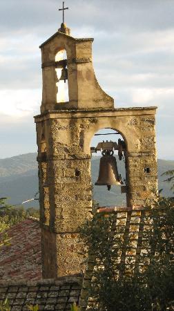 Pienza, Italia: campanile cortonese