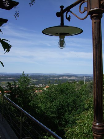 Beiras, Portugal: View from restaurant balcony