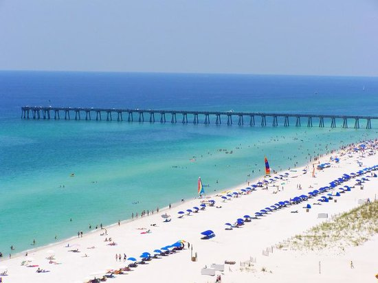 Pensacola, Floryda: view from Emerald Isle