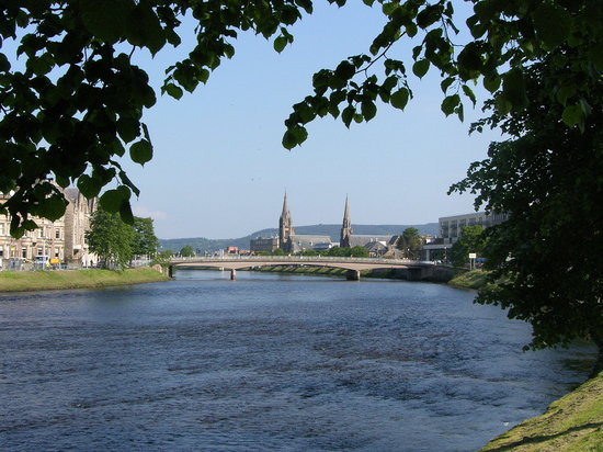 Инвернесс, UK: The River Ness