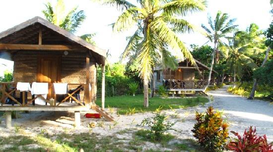 Matafonua Lodge : the Fale's