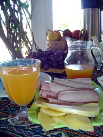 Na Curva do Rio: Delicious breakfast