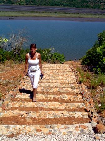 Na Curva do Rio: walking arround