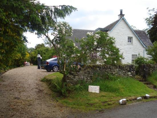 Dalmary Cottage driveway
