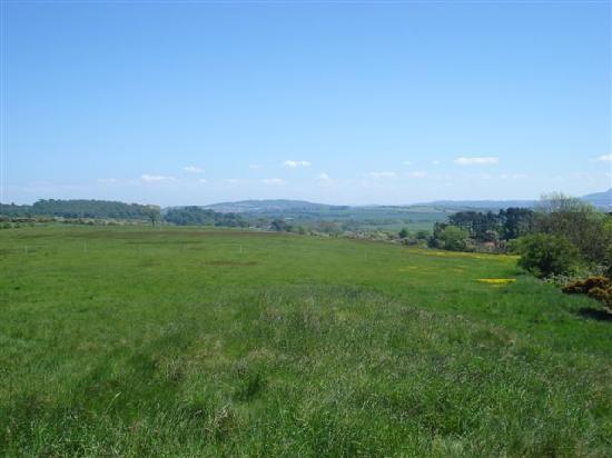 Craigbrae Farmhouse: Craigbrae - view from outside of farmhouse