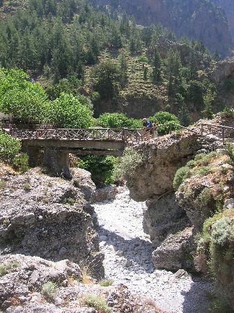 Samaria Gorge National Park: Villaggio di Samaria a metà canyon