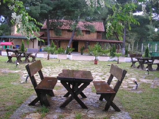Restaurant Laguna Park: Il tavolo di legno