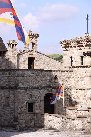La Casa del Tibet : le bandiere
