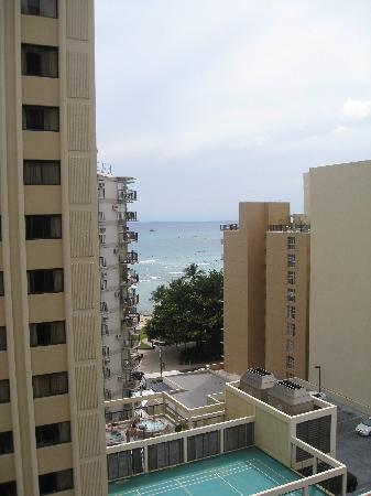 Waikiki Resort Hotel : Ocean View From Rm 1113