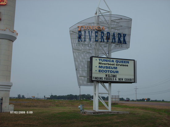 Tunica, MS: River Park Museum Entrance