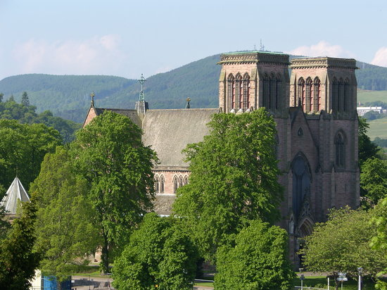 Инвернесс, UK: Inverness Cathedral