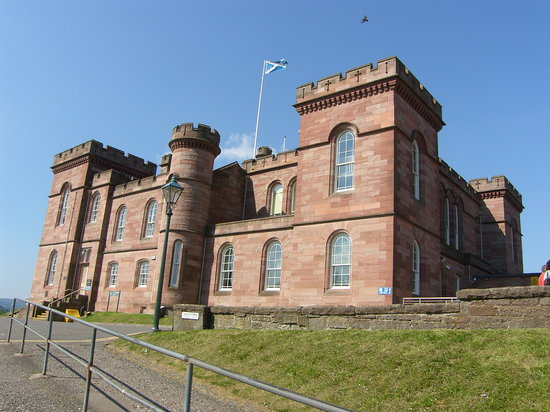 Инвернесс, UK: Inverness Castle