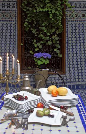 Dar Al Safadi: Fresh fruits prepared daily