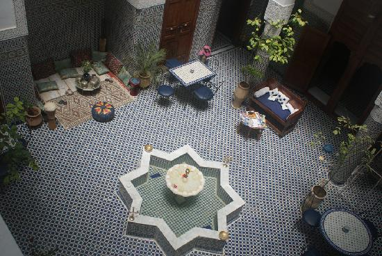 Dar Al Safadi: An overview of the courtyard