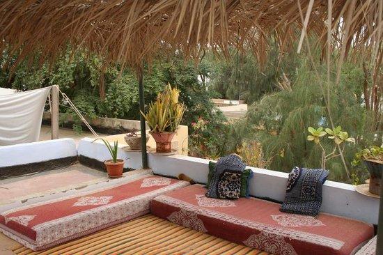 Auberge Menata: coin rencontre traditionnel