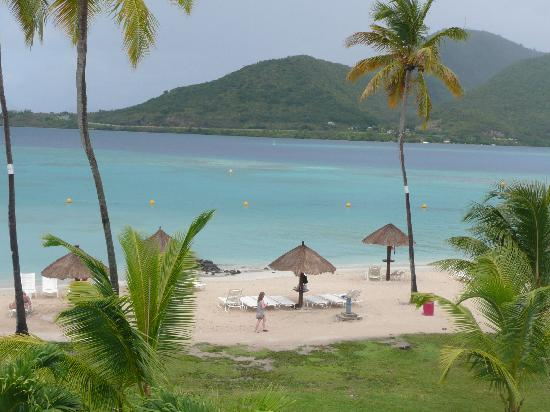 Club Med Les Boucaniers : la plage et les fabuleux parasols