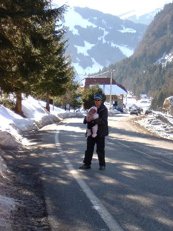 rudechalets - Chalet Joseph: Walk down from Les Prodains to Chalet Christophe