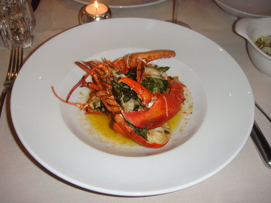 Restaurant Couvert: Baby lobster
