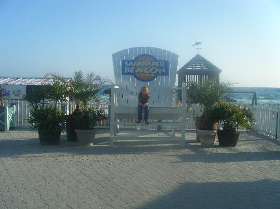 The Sandpiper Beacon Beach Resort Huge Chair