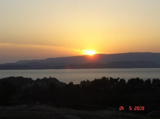 Dionysos Village Resort : Sunset from Balcony