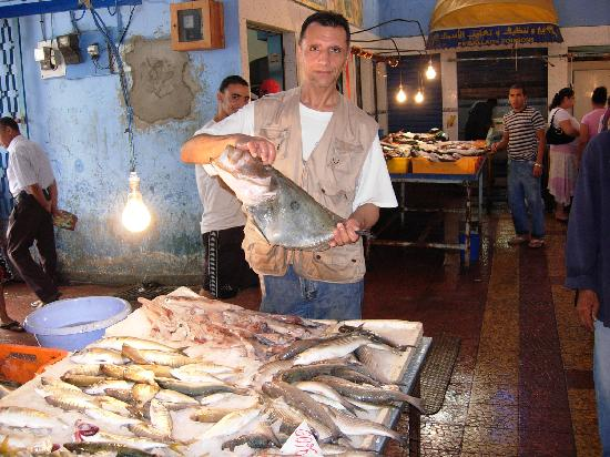 Bizerte, Tunisia: Marché du poisson