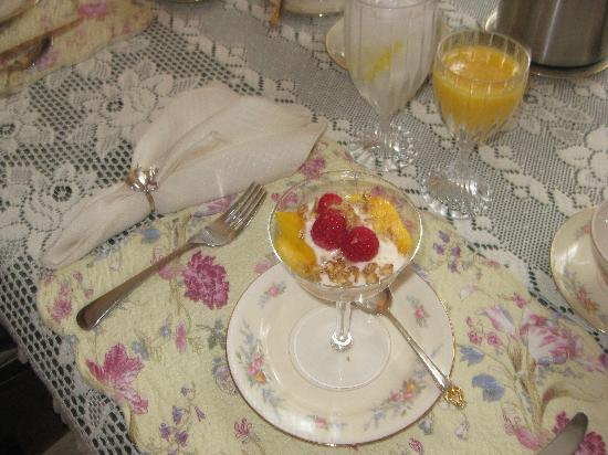 WestPort Bed and Breakfast: One course of breakfast (out of 3!)