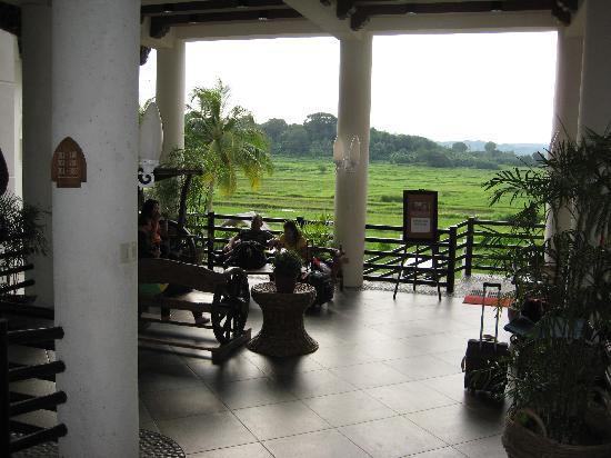 Java Hotel: read a book and enjoy the breeze and view
