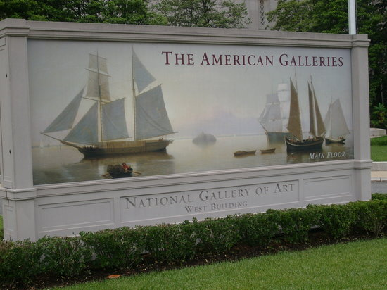 National Gallery of Art: American Galleries, West Building