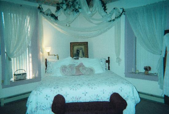Lincoln, Nuevo Mexico: Romantic bedroom