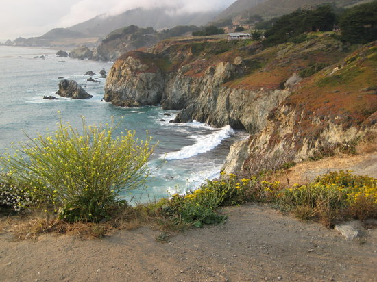 Big Sur, Californië: Pacific Coast HWY view