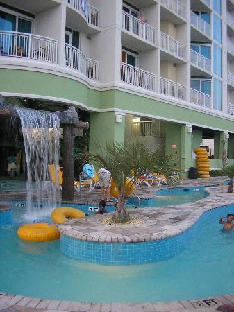Wyndham Vacation Resorts Towers On The Grove Lazy River And Waterfall
