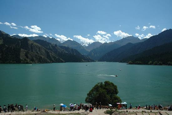 Silk Road: Heavenly lake